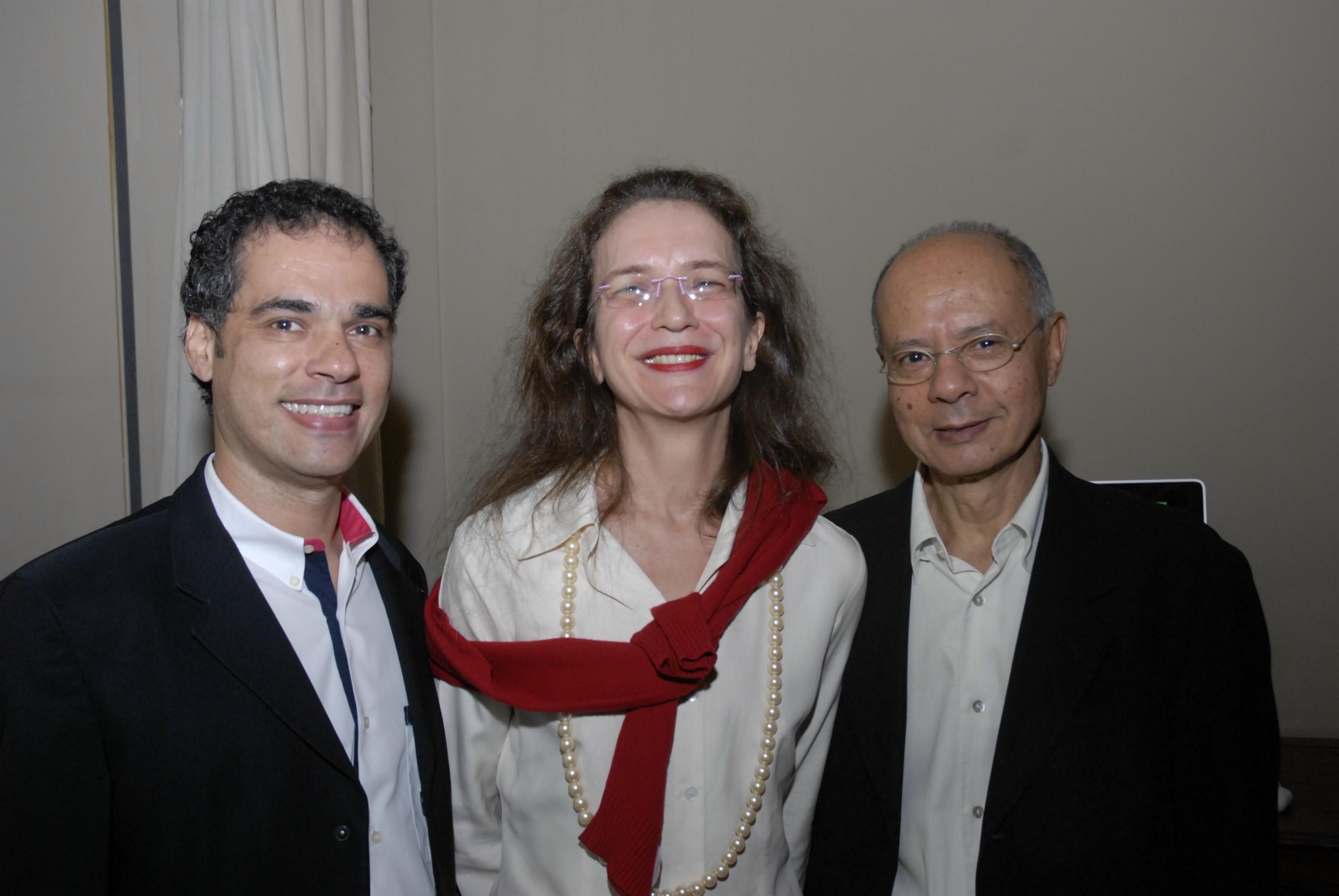 franklin pedrosa ana miguel e joaquim paiva Galeristas nacionais e internacionais na ArtRio 2011