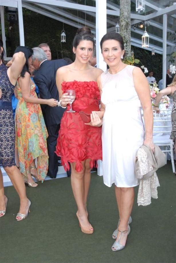 Antonia e sua mãe Tanit Galdeano Casamento Ana Carolina e Thomaz Malan – parte 2