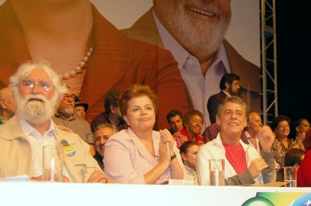 DSC 0174 Cultura em peso com Dilma no Teatro Oi Casa Grande