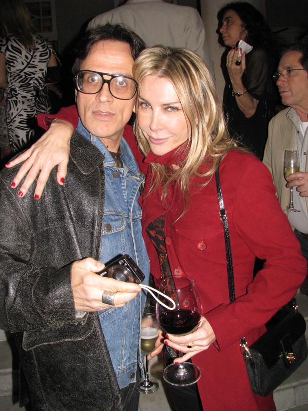 Lilibethblog 145 Na festa de Lilibeth para Romero Britto, só faltou a Judy Garland