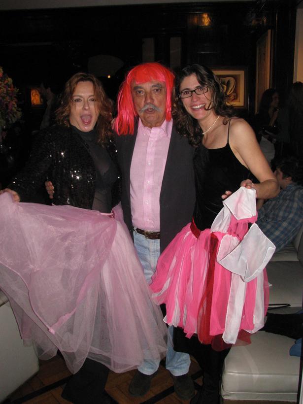 Lilibethblog 191 Na festa de Lilibeth para Romero Britto, só faltou a Judy Garland