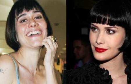alessandra negrini e mayana moura 2 A nova gêmea de Alessandra Negrini