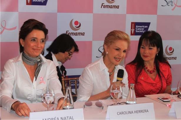 car 5 Carolina Herrera acende as luzes do Outubro Rosa no Rio