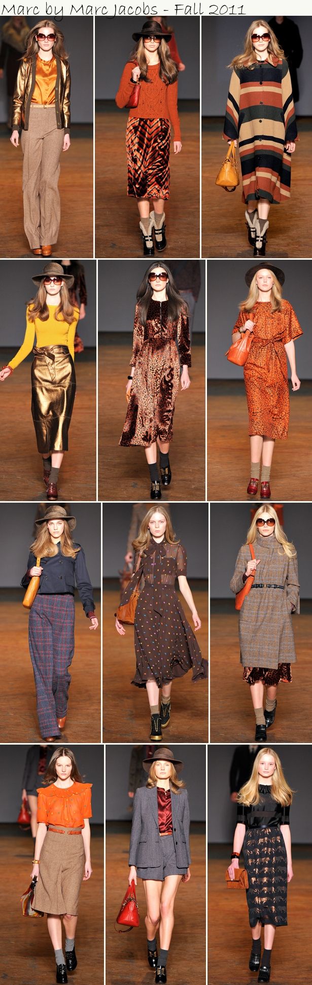 Marc by Marc Jacobs Coluna da Hilde amou: Marc by Marc Jacobs, na New York Fashion Week