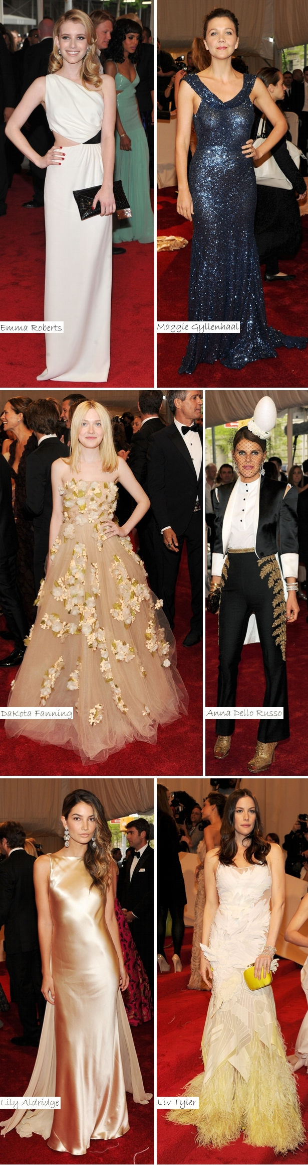 As Mais Bem Vestidas Met Ball 2011c Vote: As Mais Bem Vestidas do Met Ball 2011