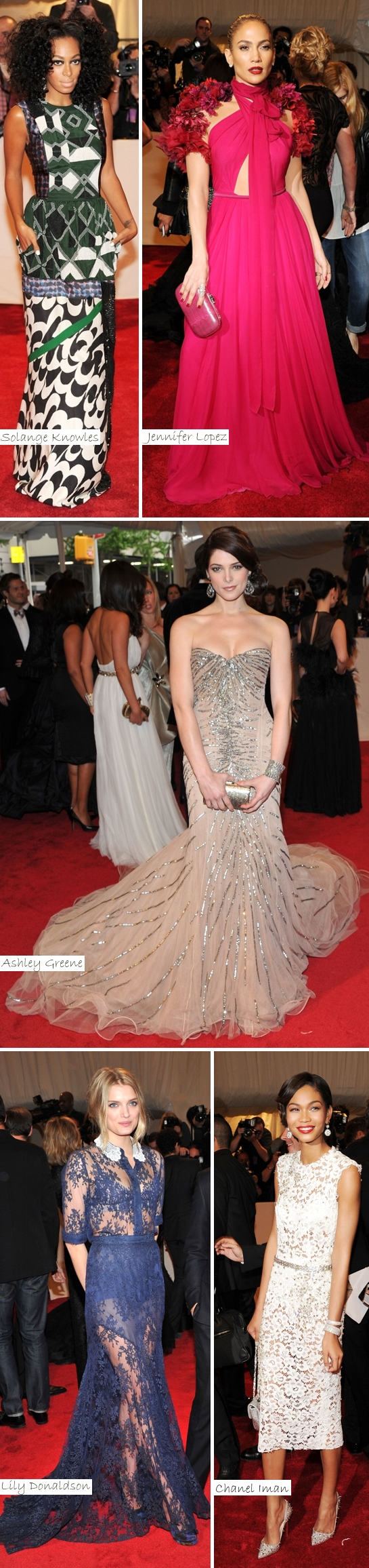 As Mais Bem Vestidas Met Ball 2011d Vote: As Mais Bem Vestidas do Met Ball 2011