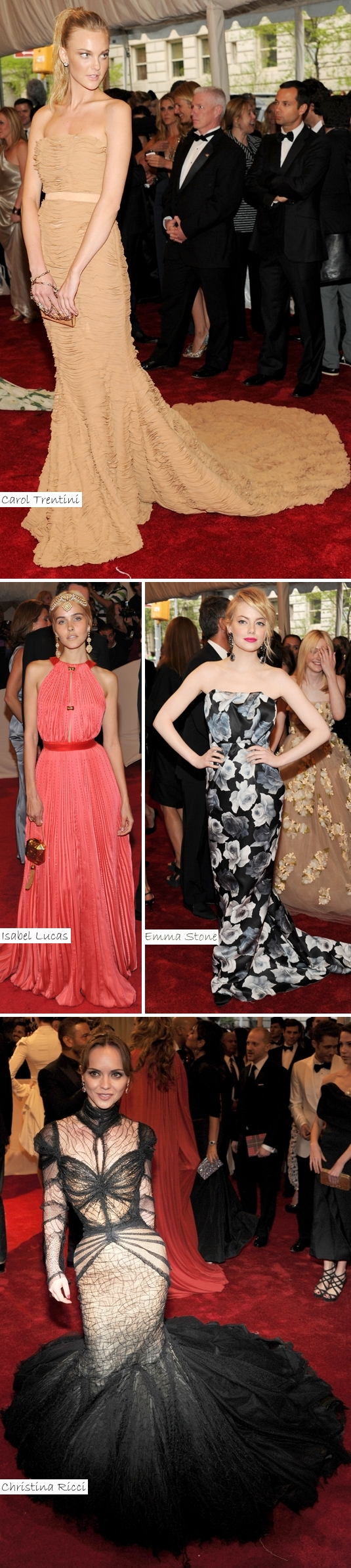 As Mais Bem Vestidas Met Ball 2011e Vote: As Mais Bem Vestidas do Met Ball 2011