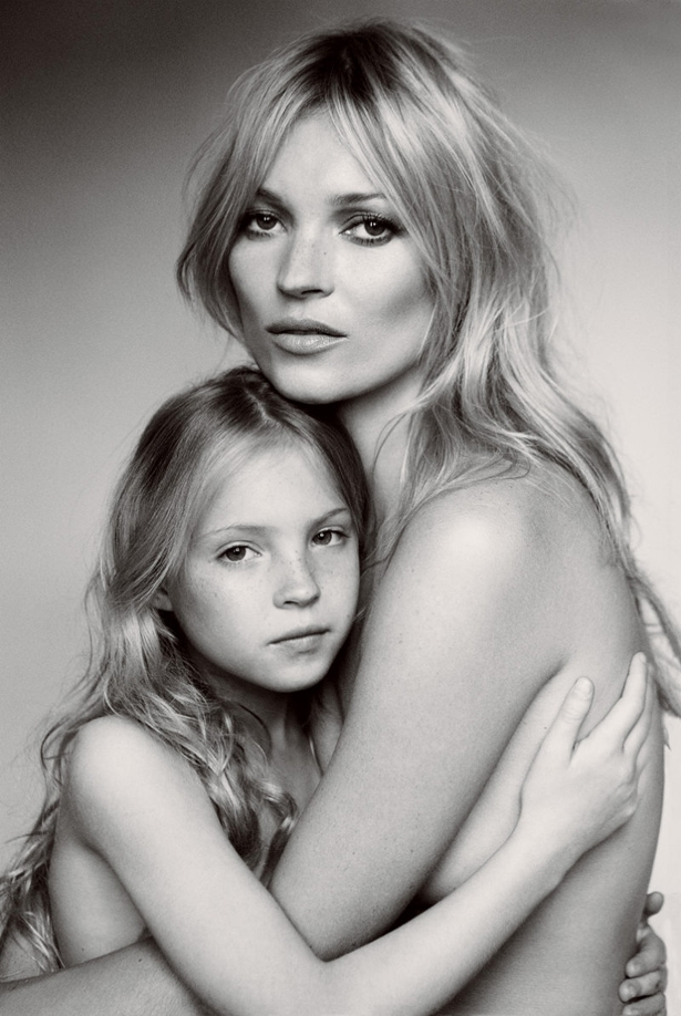 kate moss4 Kiss me, Kate... Na Vogue US!