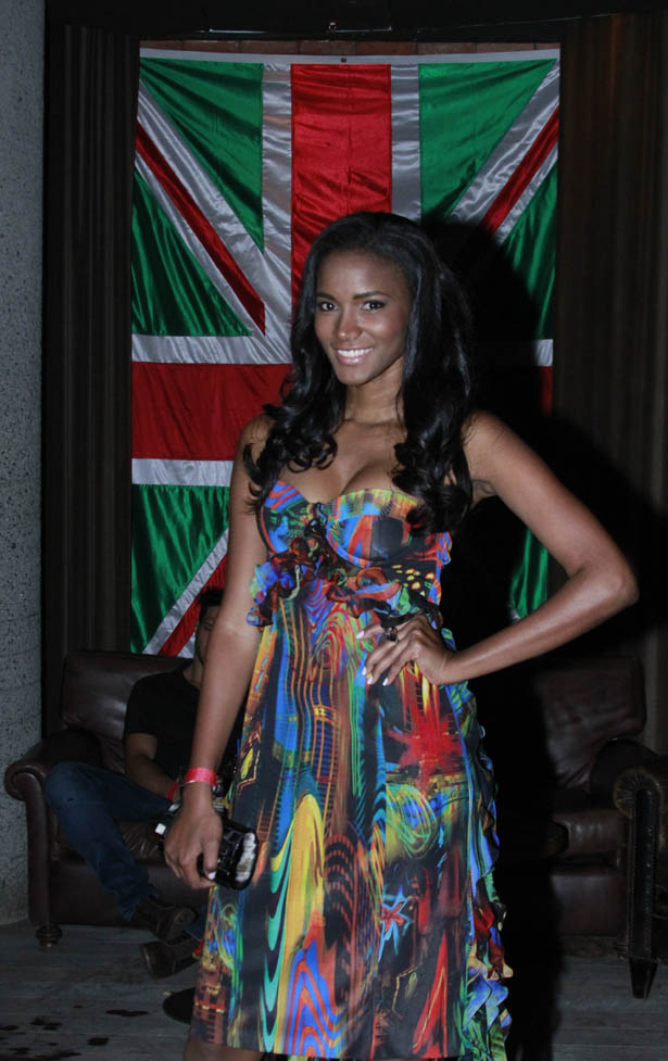 Leila Lopes Miss Angola Miss Universo no carnaval do Rio