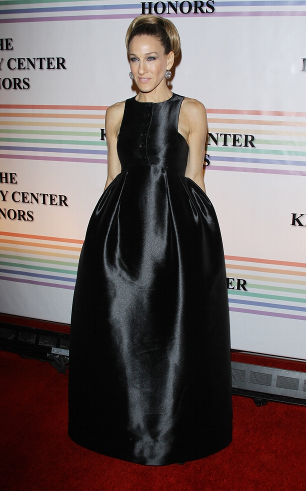 Sarah Jessica Parker 34th Kennedy Center Honors Sarah Jessica Parker, très chic, no Kennedy Center Honors 2011!
