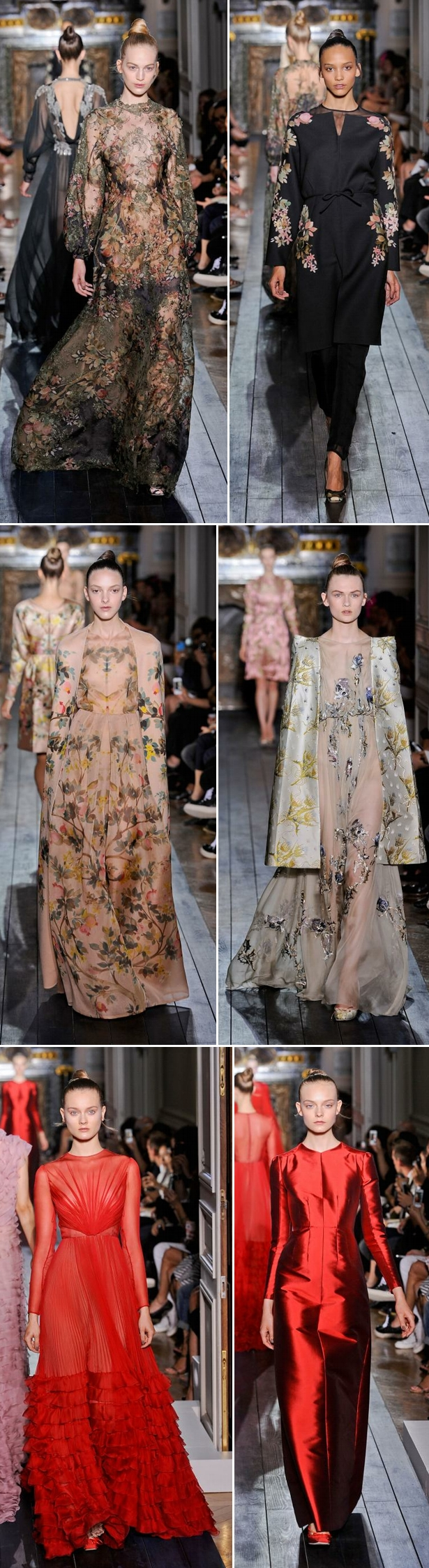 Valentino Haute Couture Winter 2013b Valentino blue!