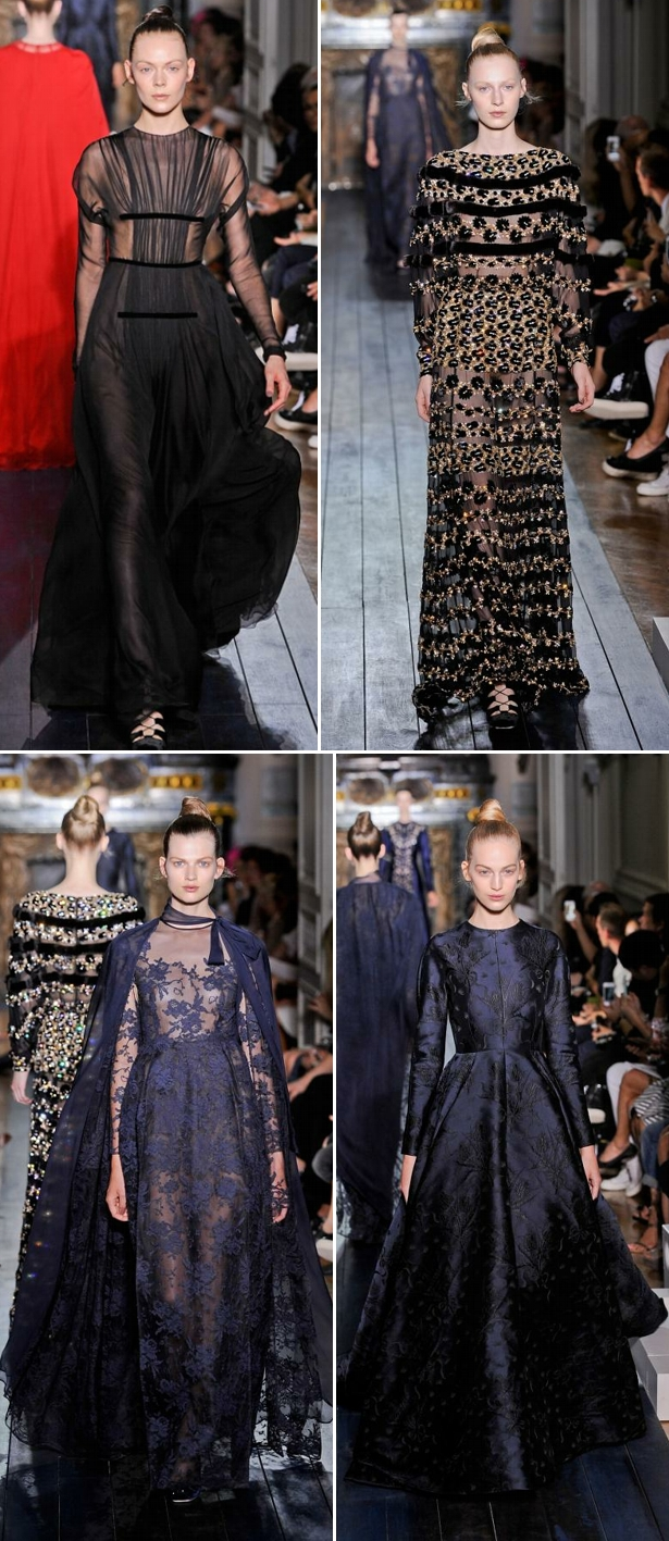 Valentino Haute Couture Winter 2013c Valentino blue!