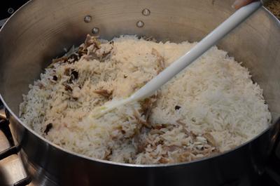 06 Misture tudo e deixe cozinhar rapidamente