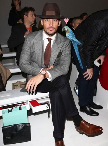 David Gandy - O Mais Bem-Vestido da Semana