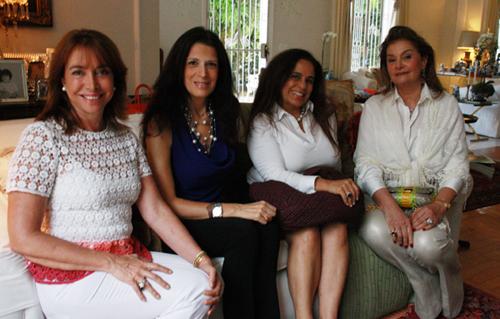 Frering-Luiza Vilela, Paula Cleofas, Tereza Xavier e Sonia Campagnac