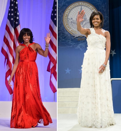 Michelle-Obama-Jason-Wu-Red-White-Dress-2013-2009-Inuguration-ball