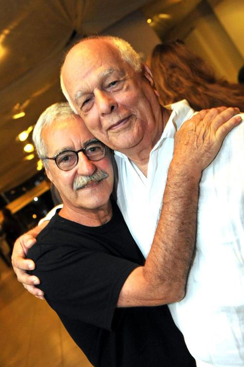 A Luz-DSC_5392  Os diretores Luiz Carlos Lacerda - Bigode  e Nelson Pereira dos Santos