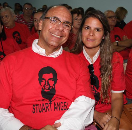 Escola-Arnaldo e Paloma Danemberg