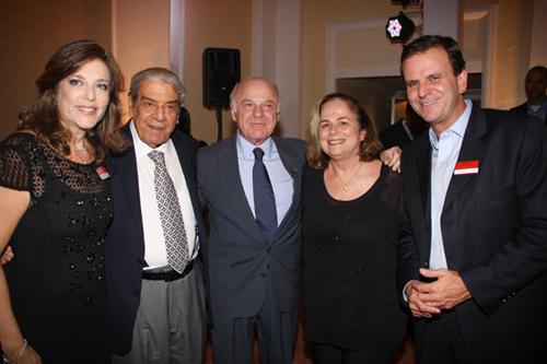 Lide-Andreia Repsold Carlos Carvalho  Francis Bogossian  Hilde e Eduardo Paes