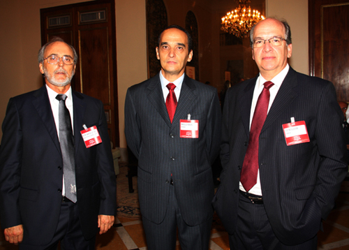 Lide-Walter Lopes  Marcelo Ferreira  e Jose Nogueira