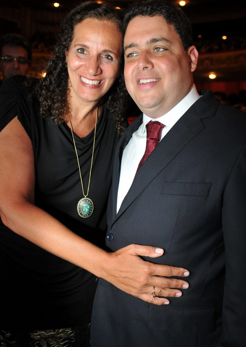 OAB-DSC_5542   Jandira Feghali  e Felipe Santa Cruz