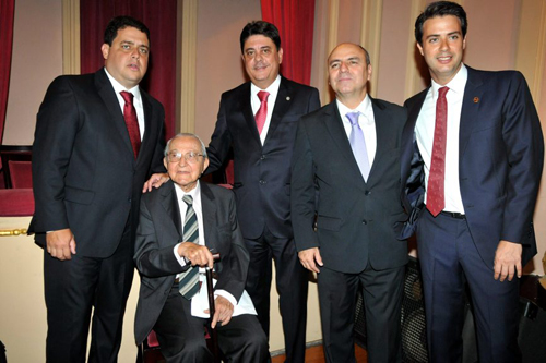 OAB-DSC_5554  Felipe Santa Cruz  Calheiros Bonfim  Wadih Damous  Marcos Vinicius Cordeiro e Ronaldo Cramer