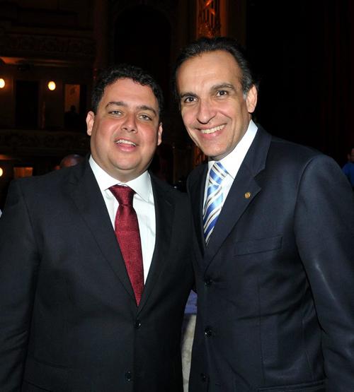 OAB-DSC_5754  Felipe Santa Cruz e Hugo Leal