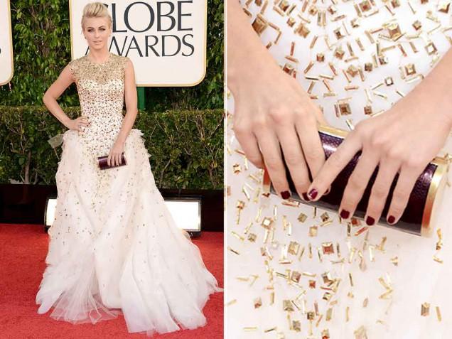 OSCAR julianne-hough-nails-golden-globes