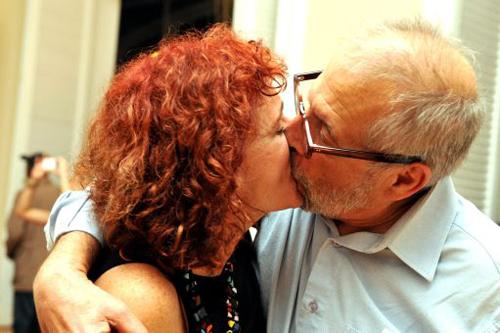 Aquila-DSC_6760   O casal Vânia Castro Lopes e  Luiz Aquila