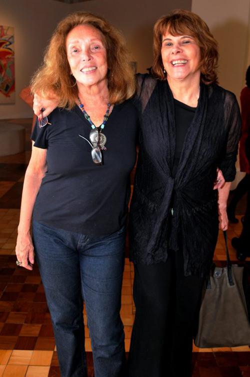 Aquila-DSC_6787   Maria Lúcia Dahl e  Sandra Werneck