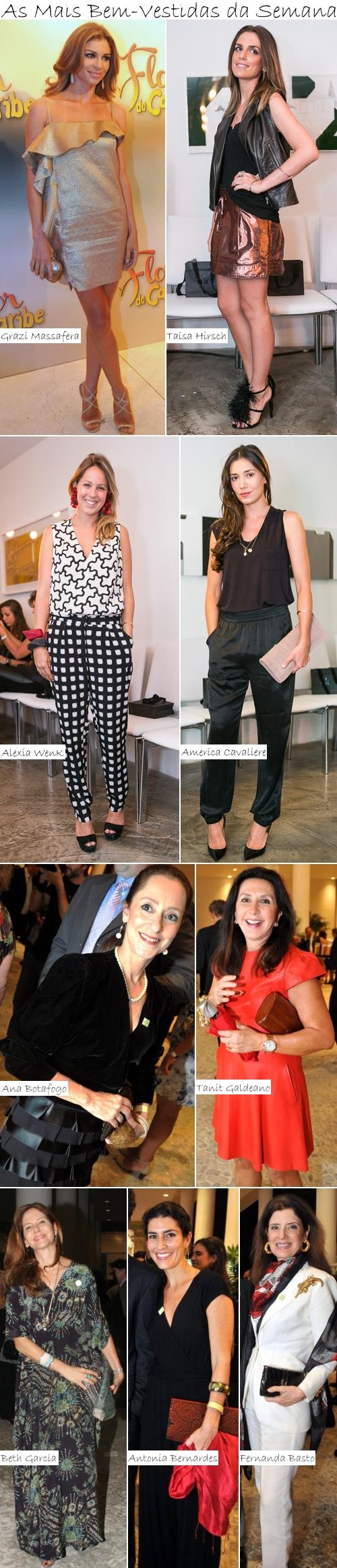 As Mais Bem-Vestidas da Semana - 23 de fev