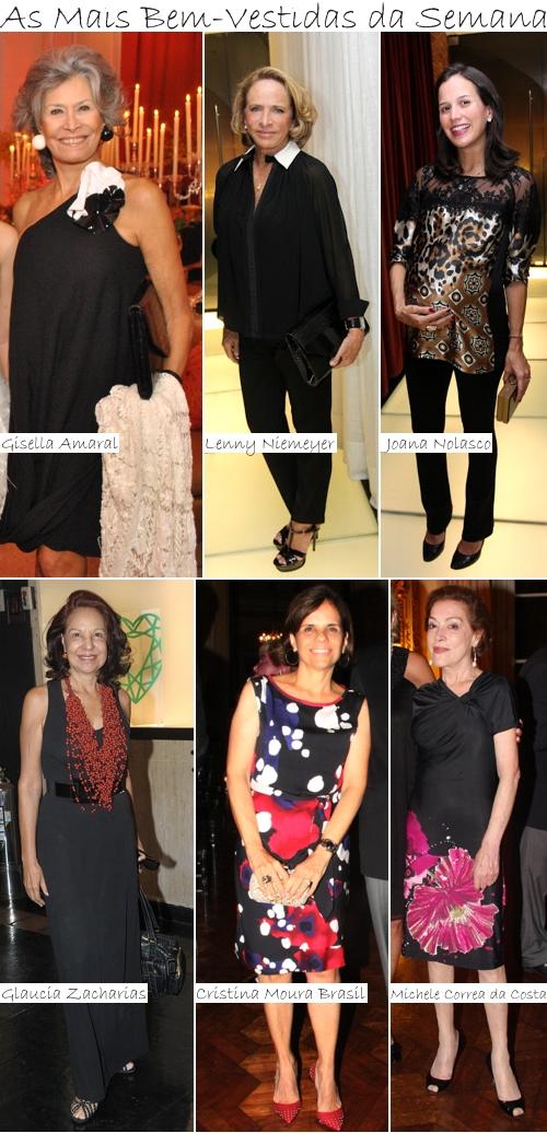 As Mais Bem-Vestidas da Semana - 9 a 16 de março