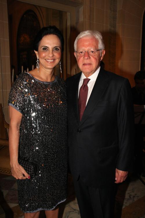 Julieta-Clara Vasconcelos e Wellington Moreira Franco