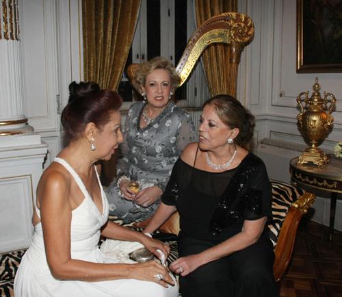 Julieta-Glaucia zacharias Maria Celia Moraes e Paula Paes