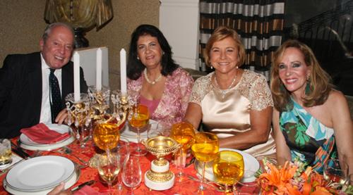 Julieta-Marcio Dias Carol Ribeiro consuelo Paes e Zizi Magalhães
