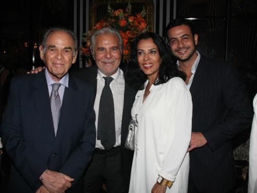 Julieta-Renée Haguenauer Dino Trappetti  Maria Luiza de Mendonça e Roberto Padula