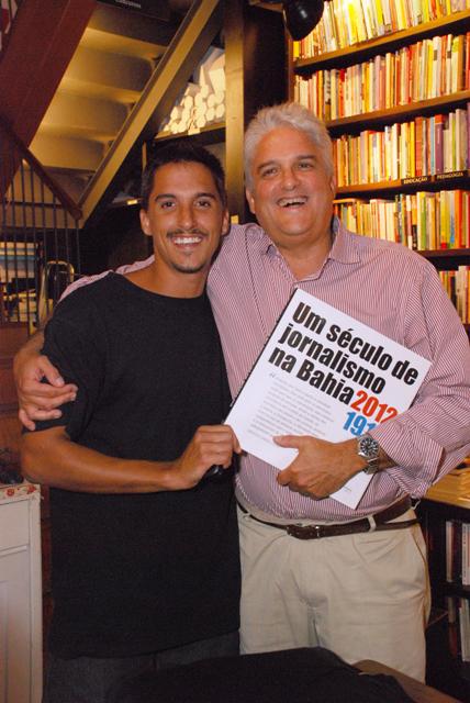 Livro-Ranulfo e o filho Diogo Bocayuva