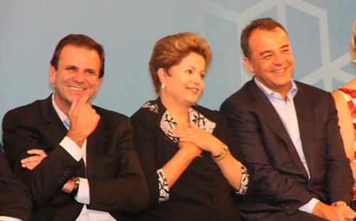 MAR-Eduardo Paes. Dilma Rouseff e Sergio Cabral.jpg1