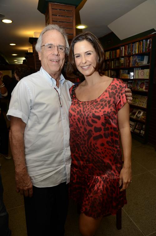 Poesia-Luiz Eduardo e sua filha Guilhermina Guinle