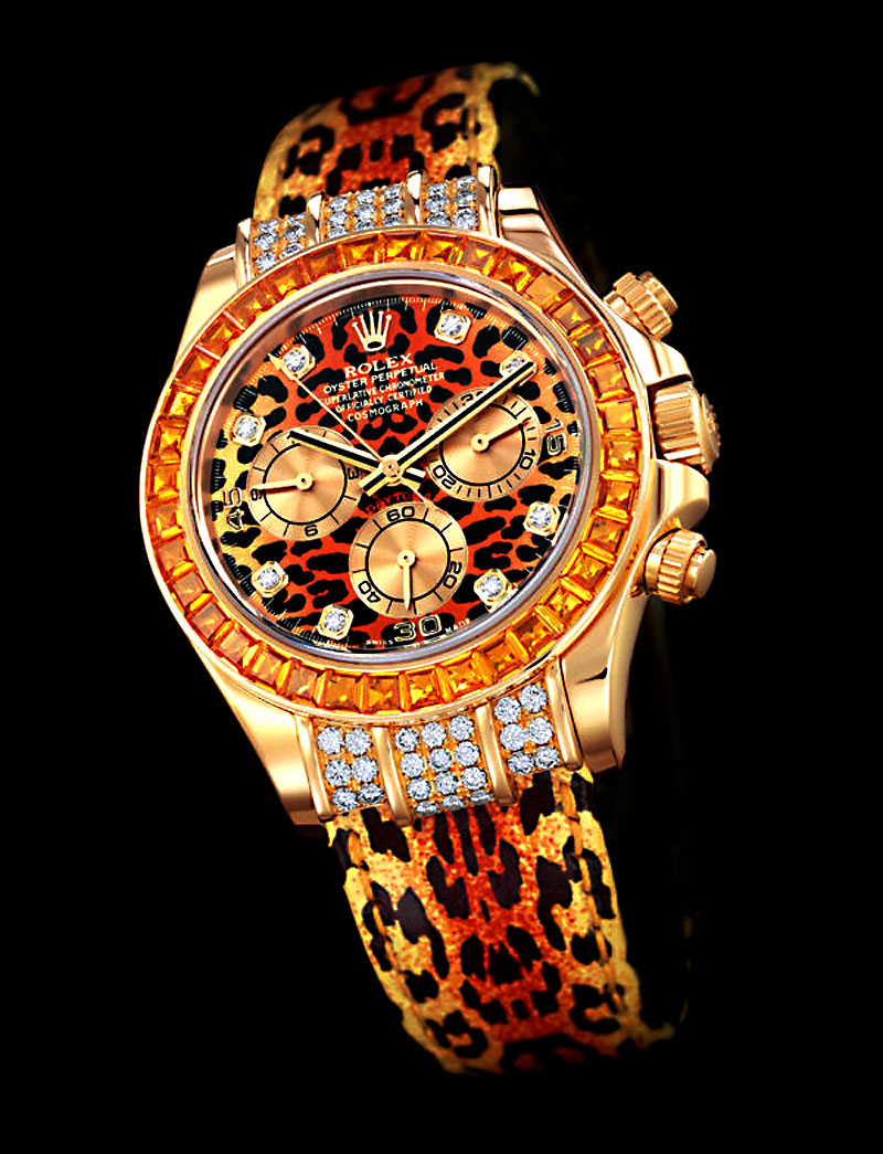 patrick Bejeweled-Leopard-Rolex-Daytona