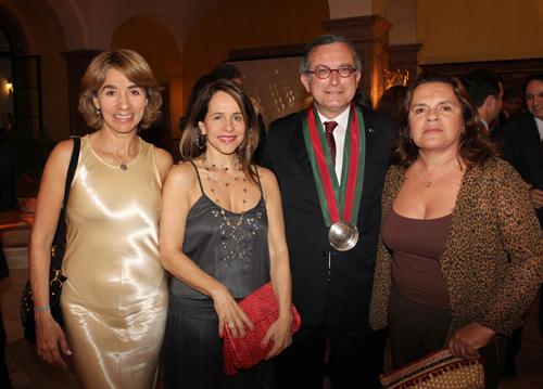 Confraria-IMG_5176-Manoel Cabral- Marta Salles- Gisela Mattoso e Gilda Mattoso