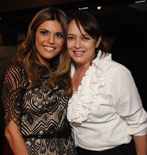 Isabella Lemos de Moraes e Miriam Rios