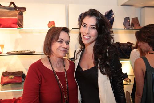 Mara Mac Dowel com a modelo Thalita Rossi IMG_0360