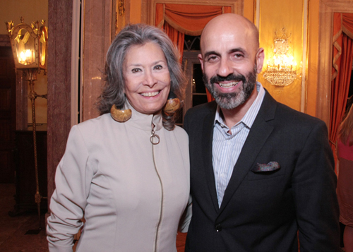 Maria João-Gisela Amaral e Claudio Gomes