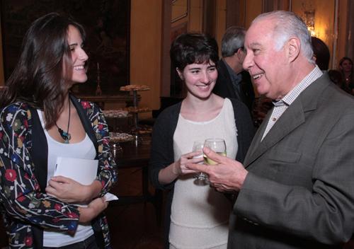 Maria João-Reinaldo Paes Barreto com as sobrinhas Isabela e Cristiana Paes Barreto