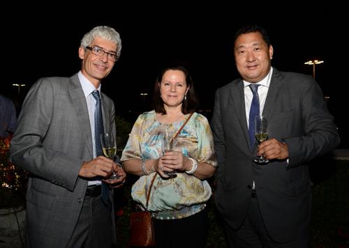 Yo-Yo-Jiantog Wu  Kathryn Stott e Steffen Dauelsberg