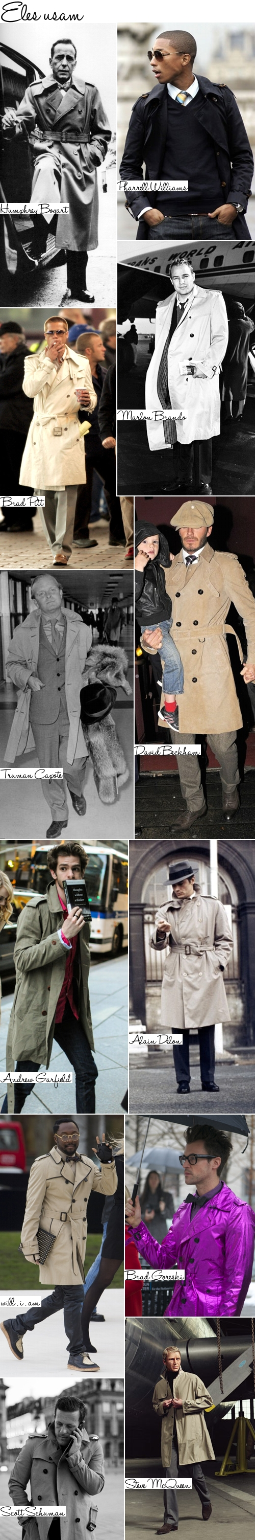 Trench coat eles