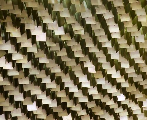 Senado-Federal-Plen_rio-Teto-com-placas-met_licas-Arq-Oscar-Niemeyer-1978-Foto-Edgard-Cesar