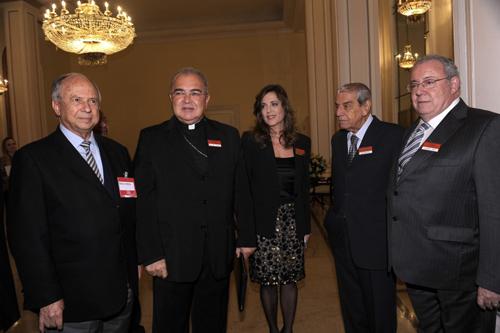 LIDE-PJ 095 Marcílio Marques Moreira - D. Orani Tempesta - Andreia Repsold - Carlos Carvalho - Maurício Dinepi