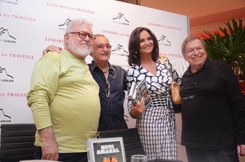 Boni-Ricardo Amaral Humberto Saade Luiza Brunet e Boni